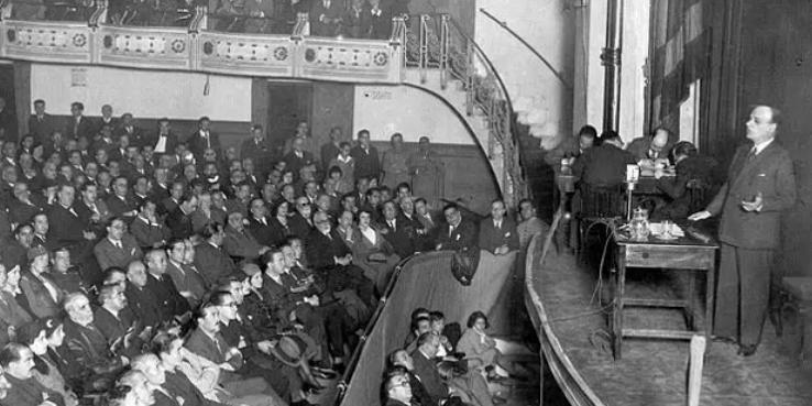 Discurso de Ortega y Gasset sobre el Estatuto de Cataluña (1932)