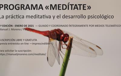 MEDÍTATE / práctica meditativa y desarrollo psicológico